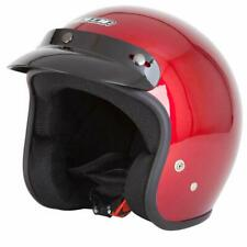 Spada Helmet Open Face Plain Red