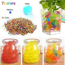 3000pcs Orbeez Soft Crystal Water Paintball Bullet Growing Water Balls New