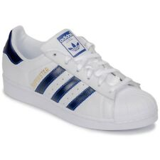Sneakers   Scarpe donna adidas  SUPERSTAR  Bianco Bianco Cuoio 7742910