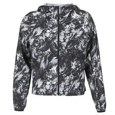 giacca a vento donna Converse  CONVERSE FEATHER PRINT BLUR 2.0 JACKET  Nero N...