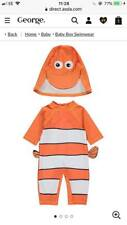 DISNEY FINDING NEMO SUN PROTECTION UV40 SWIMSUIT AND HAT SET BNWT ALL AGES