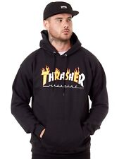 Thrasher Black Flame Mag Hoody