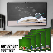 120 inch Portable HD 16:9 Projector Screen For Home Cinema Theater KTV Party