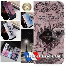 Etui coque housse XXL COLORS Cuir PU Leather case cover pour HUAWEI Honor 8C