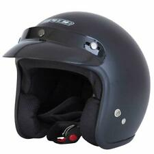 Spada Helmet Open Face Plain Matt Black
