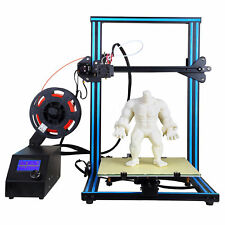 3D Printer Dual Z Rod Axis With PLA Filament