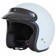 Spada Helmet Open Face Plain White