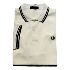 fp49 Fred Perry polo bianco uomo white men's polo shirt NEW collection 2019