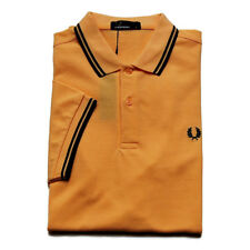 fp44 Fred Perry polo arancione uomo orange men's polo shirt NEW collection 2019