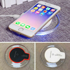Qi Wireless Charger Slim Pad Ultrathin Fast Charging For iPhone X 8 S9 HUAWEI