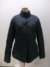 Eddie Bauer Goose Down 550 Fill Power black quilted Jacket coat womens sz Small