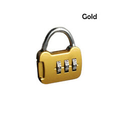 Security 3 Digit Combination Travel Suitcase Luggage Bag Code Lock Padlock New