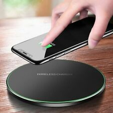 Fast QI Wireless Charger Charging Pad Mat Dock for iPhone Samsung, Huawei, HTC