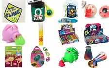 Slime Animals Xmas Kids Stocking Party Bag Fillers Gifts