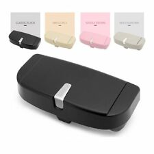 Car Glasses Case Multi-function Sunglasses Ticket Receipt Card Storage Holder ME