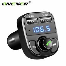Onever FM Transmitter Aux Modulator Bluetooth Handsfree Car Kit Car Audio MP3...