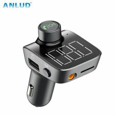 ANLUD Bluetooth 5.0 FM Transmitter Wireless Bluetooth Car Kit Car MP3 Player ...