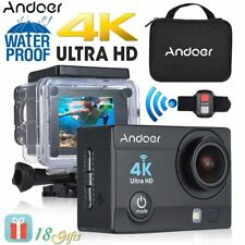 "Andoer Q3H-R 2"" LCD 4K WiFi Sports Camera 1080P Full HD 170 Wide-Angle Action..."