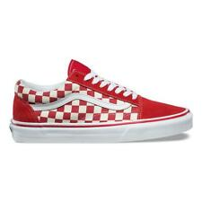 New VANS Mens Checkerboard Old Skool RED   WHITE VN0A38G1P0T US M 7.5-10  TAKSE c6bc6f5258a