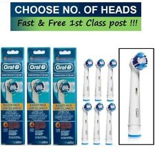 ORAL-B REPLACEMENT ELECTRIC TOOTHBRUSH PRECISION CLEAN BRUSH HEADS
