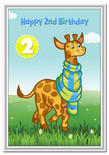2nd Birthday Cards For Boys