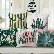 New Fresh Plants Sofa Bed Car Coffee Home Decor Pillow Case Cushion Cover
