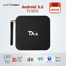 Tanix TX6 Smart TV Box Android 9.0 Support 4K Allwinner H6 4GB DDR3 32GB 64GB...