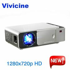 VIVICINE 1280x720p HD LED Projector,Android 7.1.2 HD Portable HDMI USB PC 108...