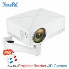 Newpal C80 UP Mini Projector 2200Lumens Projector 1280x720P Home Cinema (Andr...