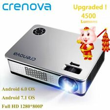 CRENOVA 2019 Newest Upgraded Android Projector 4500 Lumens Android 6.1 OS Wit...