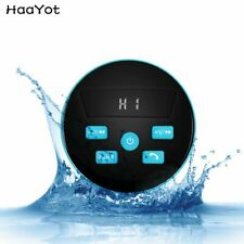 HAAYOT Portable Waterproof Bluetooth Speaker IPX7 Wireless Tub Suction Speake...