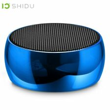 SHIDU 5W Portable AUX Bluetooth Speaker Wireless Outdoor Stereo Music Surroun...