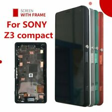 "4.6"" Original LCD For Sony Xperia Z3 compact D5803 D5833 LCD Display Digitize..."