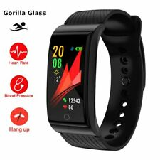 Outdoor Swim Smart Watch Blood Pressure Heart Rate Monitor Health Smartwatch ...