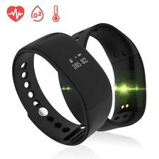 V66 Smart Bracelet Waterproof Heart Rate Monitor Men Women Smart Band Alarm C...