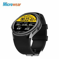 Microwear L1 sports smart watch  for Android ios MTK2503 heart rate 2G Wifi B...