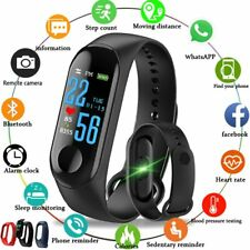 2018 New Sport Waterproof Smart Bracelet Blood Pressure Monitor Smart band Fi...