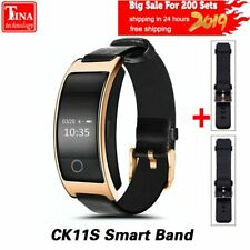 CK11S Smart Band Blood Pressure Heart Rate Monitor Wrist Watch Intelligent Br...