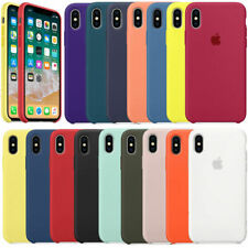 Premium Liquid Silicone Hard Shell Cover Case For Apple iPhone XS Max XR XS X 8