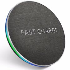 GETIHU 10W Qi Fast Wireless Charger For iPhone X XR XS MaX 8 Samsung Note 8 S...