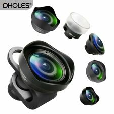 Pholes Wide Angle Fisheye Macro Portrait Phone Lens Zoom Camera Lenses for iP...