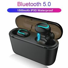 Bluetooth 5.0 Earphones TWS Wireless Headphones Blutooth Earphone Handsfree H...