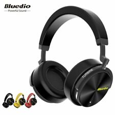 Bluedio T5 Active Noise Cancelling Wireless Bluetooth Headphones Portable Hea...
