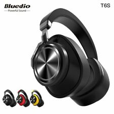 Bluedio T6S Bluetooth Headphones Active Noise Cancelling  Wireless Headset fo...