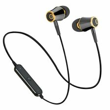 MoreBlue M64 Sport Bluetooth Earphones Wireless Headphones Running Headset St...