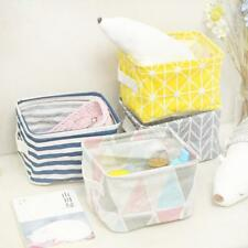 New Storage Bin Closet Toy Box Container Organizer Fabric Basket Foldable New