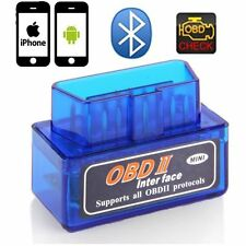 ELM327 OBD2 II Bluetooth Auto Car OBD2 Diagnostic Interface Scanner Tool New pG
