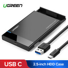 Ugreen HDD Case 2.5 SATA to USB 3.0 Adapter Hard Drive Enclosure for SSD Disk...