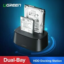 Ugreen HDD Docking Station SATA to USB 3.0 Adapter for 2.5 3.5 SSD Disk Case ...