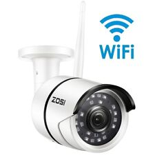 ZOSI 1080P Wifi IP Camera Onvif 2.0MP HD Outdoor Weatherproof Infrared Night ...